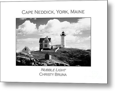 Nubble Light Metal Print by Christy Bruna