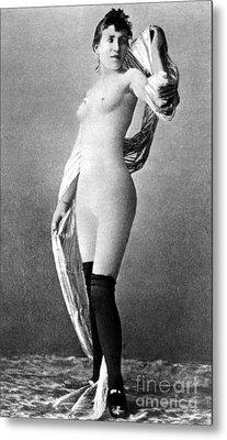 Nude Posing, C1888 Metal Print by Granger