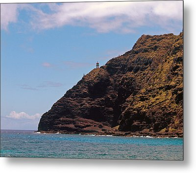 Metal Print featuring the photograph Oahu - Cliffs Of Hope by Anthony Baatz