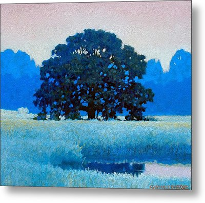 Oak Tree Metal Print by Kevin Lawrence Leveque