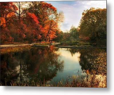 October Finale Metal Print by Jessica Jenney