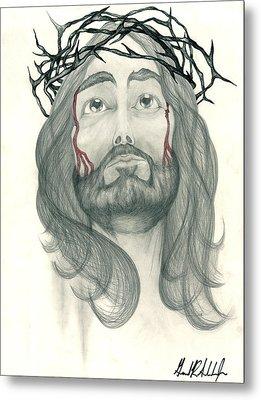 Ode To The Man Upstairs Metal Print by Gerard  Schneider Jr