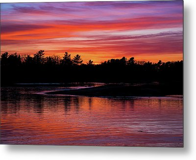 Odiorne Point Sunset Metal Print