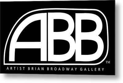 Official Abb Gallery Logo Metal Print