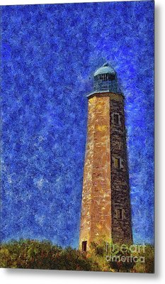 Old Cape Henry Lighthouse Metal Print