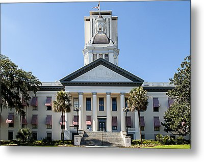 Old Florida Capitol Metal Print by Frank Feliciano