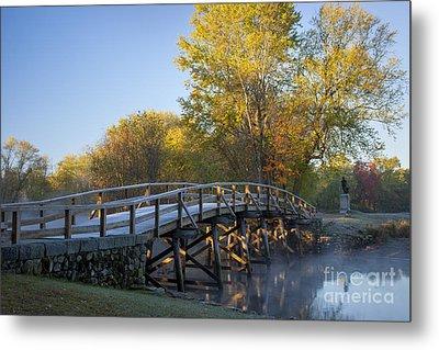 Old North Bridge Metal Print by Brian Jannsen