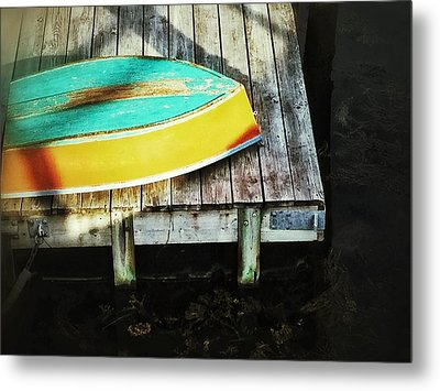 Metal Print featuring the photograph On Deck by Olivier Calas