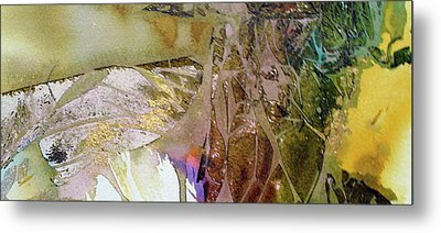 Metal Print featuring the painting On Gossamer Wing by Mary Sullivan