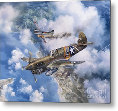 One Off At Darwin Metal Print by Randy Green
