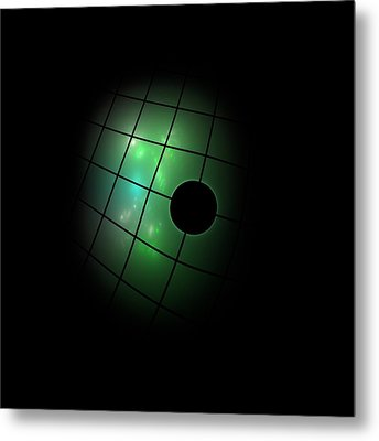 Out Of The Dark Metal Print by Steve K
