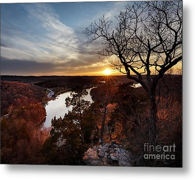 Metal Print featuring the photograph Ozark Sunset by Dennis Hedberg