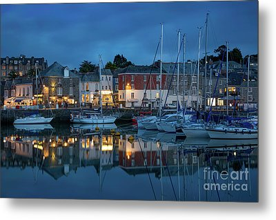Metal Print featuring the photograph Padstow Evening by Brian Jannsen
