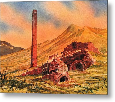 Panamint City Ghost Town California Metal Print by Kevin Heaney