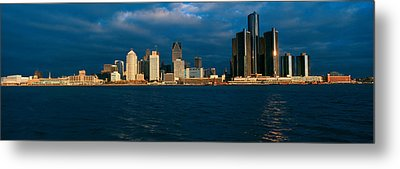Panoramic Sunrise View Of Renaissance Metal Print by Panoramic Images