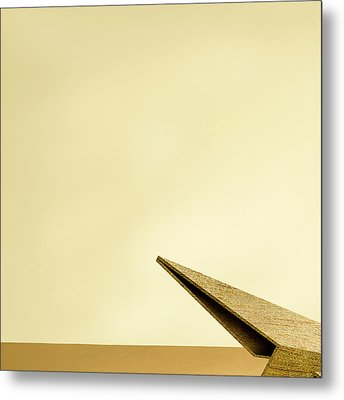 Paper Airplanes Of Wood 7-1 Metal Print