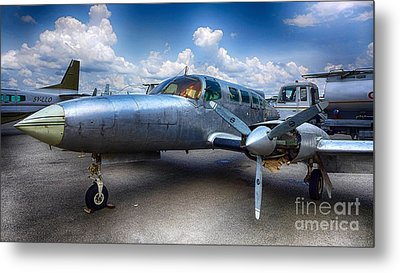 Parked Metal Print by Charuhas Images