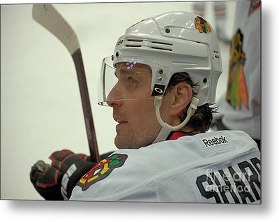 Metal Print featuring the photograph Patrick Sharp by Melissa Goodrich