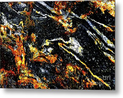 Metal Print featuring the photograph Patterns In Stone - 189 by Paul W Faust - Impressions of Light