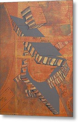 Patterns Series Number Three Metal Print by Sonja Olson