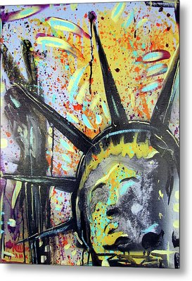 Peace And Liberty Metal Print by Robert Wolverton Jr