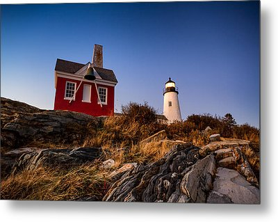 Metal Print featuring the photograph Pemaquid Sky by Robert Clifford
