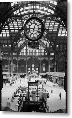 Pennsylvania Station, Interior, New Metal Print by Everett