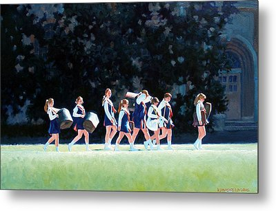 Pep Squad Metal Print by Kevin Lawrence Leveque