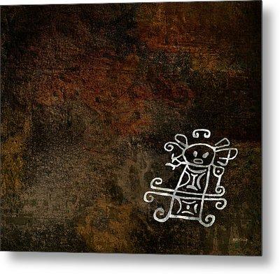 Petroglyph 2 Metal Print