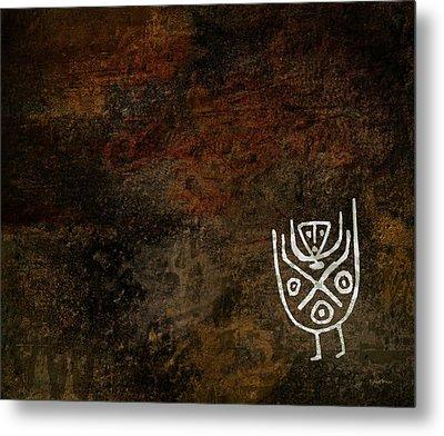 Petroglyph 3 Metal Print