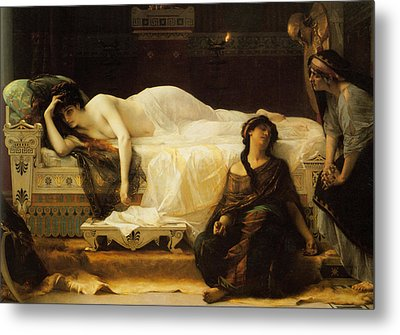 Phedre Metal Print by Alexandre Cabanel
