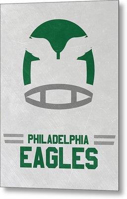 Philadelphia Eagles Vintage Art Metal Print by Joe Hamilton