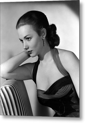 Piper Laurie, 1954 Metal Print by Everett