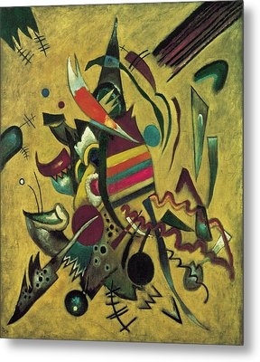 Points  Metal Print by Wassily Kandinsky
