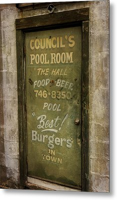 Pool Room Metal Print