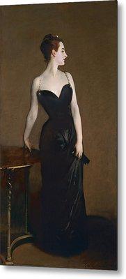 Portrait Of Madame Gautreau Metal Print by John Singer Sargent