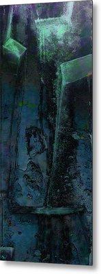 Metal Print featuring the digital art Poseidon by Ken Walker