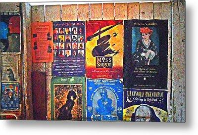 Poster Board Metal Print