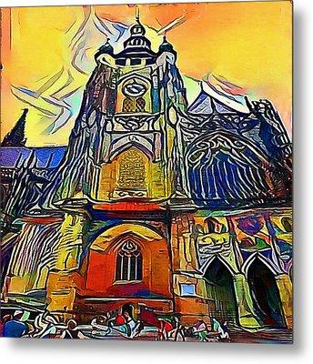 Prague Church - My Www Vikinek-art.com Metal Print
