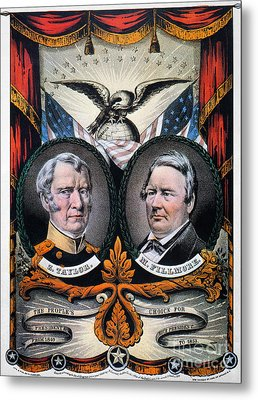 Presidential Campaign, 1848 Metal Print by Granger