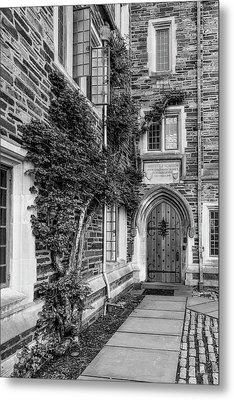Metal Print featuring the photograph Princeton University Foulke Hall II by Susan Candelario