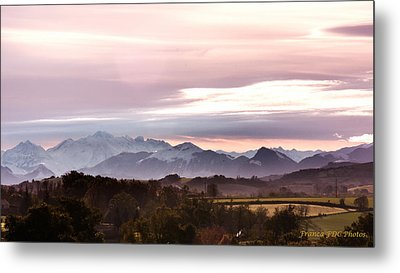 Pyrenees  Metal Print by Francoise Dugourd-Caput