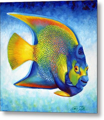 Queen Angelfish Metal Print
