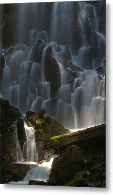 Ramona Falls Oregon Metal Print