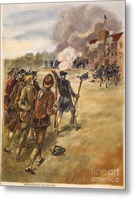 Rebels: Arsenal, 1787 Metal Print by Granger