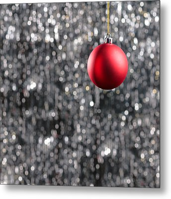 Metal Print featuring the photograph Red Christmas by Ulrich Schade