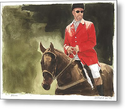 Referee Metal Print by Stephen Rutherford