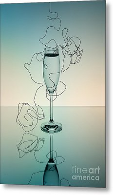 Reflection Metal Print by Nailia Schwarz