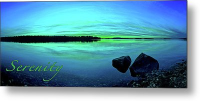 Reflections Of Serenity 2 Metal Print by ABeautifulSky Photography