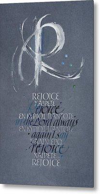Rejoice I Metal Print